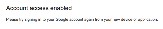 enable allow akses account gmail