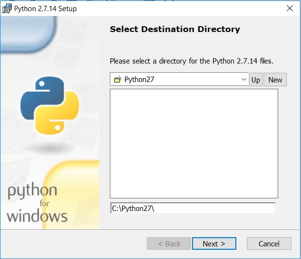 install python langkah 2