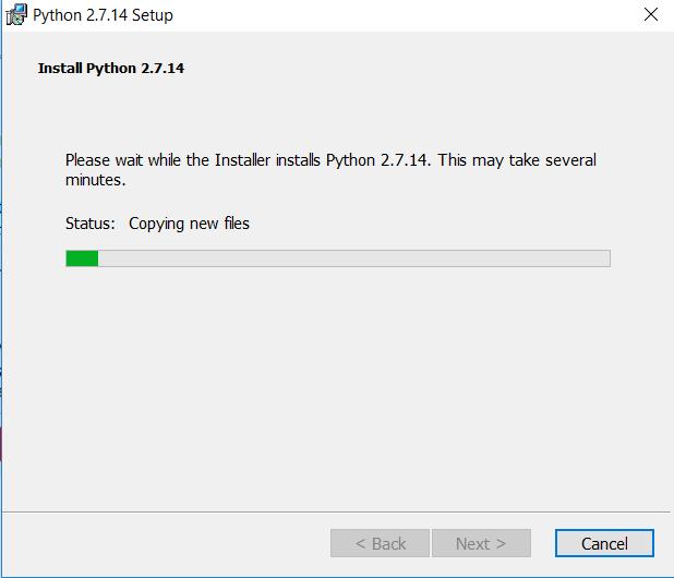 install python langkah 4