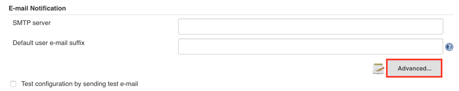 e-mail notification advenced